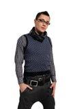 Fashion men pants, a shirt Stock Photo