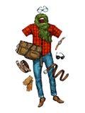 Fashion. Men s clothing. Vector illustration Stock Image