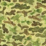 Camouflage seamless pattern background stock illustration