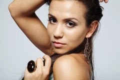 Fashion model. Stock Photography
