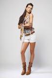 Fashion model. Royalty Free Stock Photo