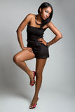 Fashion Model. Beautiful african american fashion model Royalty Free Stock Image