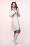 Fashion model. royalty free stock photos