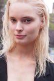 Fashion model Agnete Hegelund beauty portrait in New York Stock Image