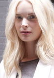 Fashion model Agnete Hegelund portrait in New York Stock Photography