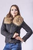 Fashion model beautiful woman Studio photography Stock Photo