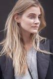Fashion model beauty portrait in New York Stock Photo