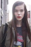 Fashion model beauty portrait in New York Royalty Free Stock Photo