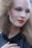 Fashion model beauty portrait in New York Stock Image