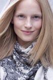 Fashion model beauty portrait in New York Stock Photos