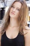 Fashion model Beauty portrait Stock Photo