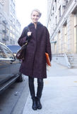 Fashion model Daria Strokous portrait Stock Image