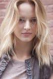 Fashion model Daria Strokous portrait in New York Stock Photo