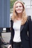 Fashion model Edita Vilkeviciute during New York Fashion Week Stock Photo