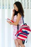 Fashion Model girl over background. portrait of Beauty stylish c Royalty Free Stock Photos