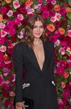 Grace Elizabeth at 2018 Tony Awards. Fashion model Grace Elizabeth arrives on the red carpet for the 72nd Annual Tony Awards held at Radio City Music Hall in New Royalty Free Stock Photography