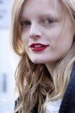 Fashion model Hanne Gaby Odiele Beauty portrait Stock Photo