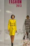 Fashion model at Kyiv Fashion 2013 Stock Photo