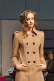 Fashion model at Kyiv Fashion 2013 Royalty Free Stock Photo