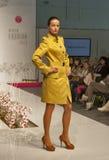 Fashion model at Kyiv Fashion 2013 Royalty Free Stock Image