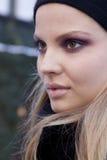 Fashion model Magdalena Frackowiak portrait in New York Stock Image