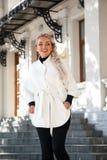 Fashion model plus size Royalty Free Stock Images