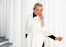 Fashion model plus size Royalty Free Stock Photos