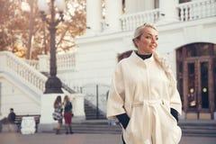 Fashion model plus size Royalty Free Stock Image