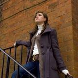 Fashion model portrait stock photo