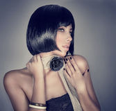 Fashion model portrait Stock Photography