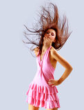 Fashion model Posed Royalty Free Stock Images