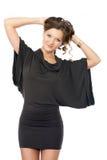 Fashion model posing Royalty Free Stock Photo