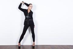 Fashion model posing Royalty Free Stock Photos