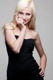 Fashion model posing Royalty Free Stock Images