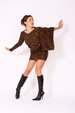 Fashion model posing Royalty Free Stock Image