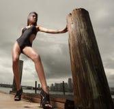 Fashion model posing Stock Image