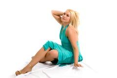 Fashion model in studio Stock Photos