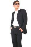 fashion model suit Στοκ φωτογραφία με δικαίωμα ελεύθερης χρήσης