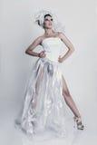 Fashion model wearing Royalty Free Stock Photo
