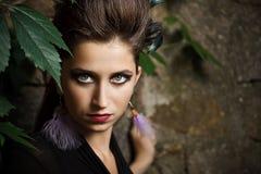 Fashion model woman Royalty Free Stock Image