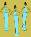 Fashion Models Royalty Free Stock Image