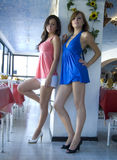 Fashion models stock photography