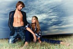 Fashion models Stock Images