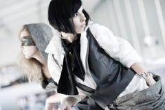 fashion models Στοκ Εικόνες