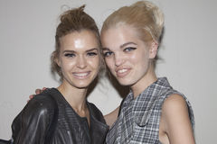 Fashion models Josephine Skriver and Daphne Groeneveld Stock Image