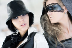 fashion models portrait Στοκ φωτογραφίες με δικαίωμα ελεύθερης χρήσης