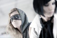 fashion models portrait Στοκ φωτογραφία με δικαίωμα ελεύθερης χρήσης