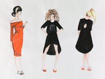 Fashion models Stock Image