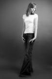 fashion moderiktigt Arkivfoto