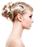 Fashion modern hairstyle Stock Photography